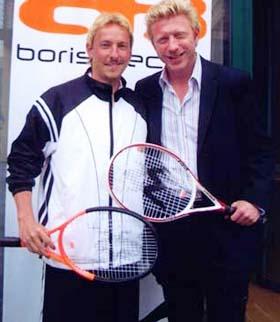 Boris Becker Ausrüstungsvertrag BB Kollektion