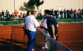 Ribe/Breuninger Cup, Schaukampf Dr. Beckstein